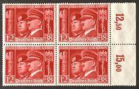 Germany. German Reich. Hitler & Mussolini. BLOCK. SG751. 1941. MNH. #SC87