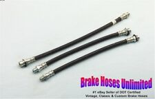 BRAKE HOSE SET DeSoto Custom & DeLuxe, Models S13, S14 - 1949 1950