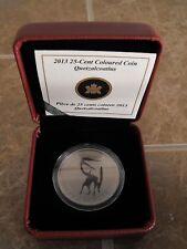 Canada 2013 25-Cent Coloured Coin: Quetzalcoatlus