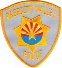 Prescott Valley Police Patch Arizona AZ