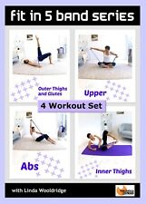 RESISTANCE BAND DVD Barlates Body Blitz FIT IN 5 BAND SERIES - 4 Workouts