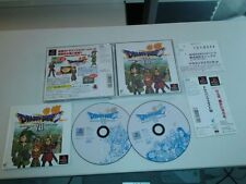 DRAGON QUEST VII  SONY PLAYSTATION ,PS2, PS3 PSX   JAPONES CON SPINE CARD