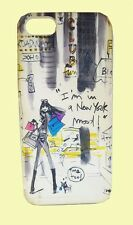 "iZAK Bloomingdales ""I'M IN A NEW YORK MOOD"" Hard-shell iPhone 5 Case Msrp $30.00"