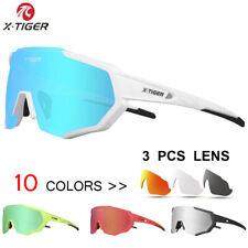 X-TIGER Polarized Cycling Glasses UV400 Cycling Sport SunGlasses Mountain Bike G