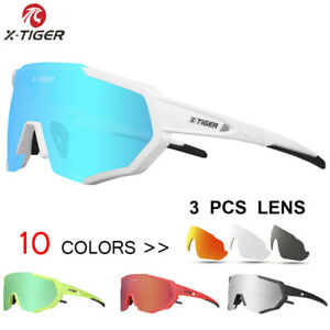 X-TIGER Polarized Cycling Glasses UV400 Cycling Sport SunGlasses Mountain Bike G