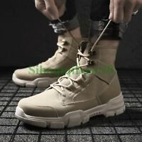 Fashion Mens High Top Sneakers Lace Up Athletic Sports Shoes Board Running SHOES