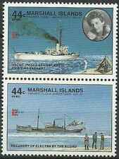 Timbres Bateaux Marshall PA13 - PA15 ** (31983)