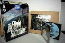 MICROSOFT FLIGHT SIMULATOR GIOCO USATO PC CDROM ED AMERICANA BIG BOX GD1 50008
