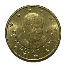 50 CENT 2011 EURO- VATICANO - RARO - 5.2.9