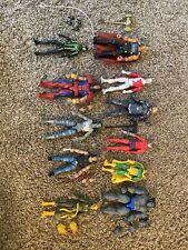 Marvel Legends Assorted Lot Of 11 Spiderman Iron Fist Warpath Vision Beast Klaw