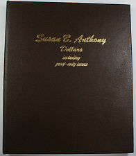 Complete 1979-1981/99 Susan B Anthony Dollar Collection 2 page Dansco Album 8180