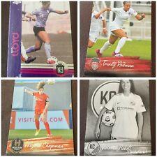 2021 Parkside NWSL Soccer Premier Edition #1-200 w/ Foils Vintage Black & White!