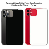 HN- Tempered Glass Cell Phone Back Protective Film Cover Set for iPhone 11 Pro M
