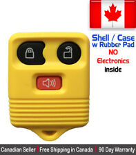 1x New Replacement Keyless Entry Yellow Remote Key Fob For Ford Shell / Case