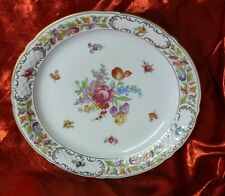 OSCAR DE LA RENTA  Royal fine china W.GERMANY. Floral Multi-color Platter Tray