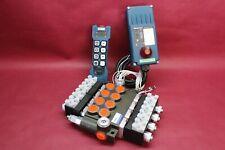 HYDRAULIC BANK MOTOR 4 SPOOL 80 l/min 21 gpm  + REMOTE RADIO HM-Line 800 12V