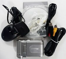 Aiptek Camcorder Kit + Battery Charger Cables Accessories - 8Mp Camera