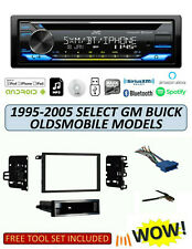 JVC KD-TD91BTS Stereo Kit for Select 1995-2005 GM Buick Olds Vehicles, ALEXA XM
