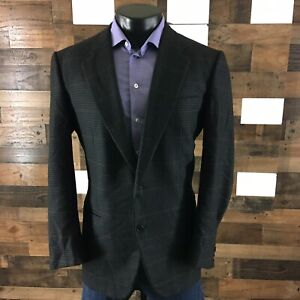 KITON Napoli Mild Soft Tweeted Ventless Sport Coat Blazer Jacket Men's 44R