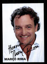 Marco Rima Autogrammkarte Original Signiert # BC 83485
