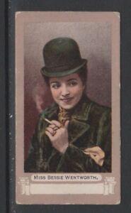 CIGARETTE CARDS Pritchard&Burton 1899 Actors & Actresses 'FROGA'- #C24 Wentworth