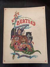 The Beatles Illustrated Lyrics Book Genuine 1969 First Edition Alan Aldridge