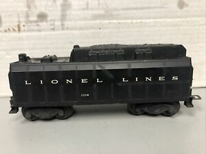 Lionel Train Lines Postwar 233W Whistle Tender