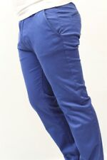Hugo Boss Pants Slim Fit 39x35 Light Blue Chino Trouser New NWT Mens Size Rice