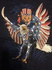 american eagle & Kitty T-Shirt Men's 3-XL New
