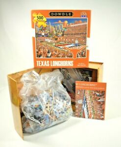 Dowdle Puzzles - UT Texas Longhorns Stadium - 500 Piece Jigsaw Puzzle - New
