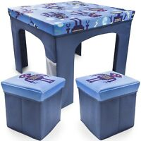 Childrens Kids Table and Chairs Nursery Sets Foldable Indoor Present Christmas