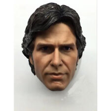 "Star Wars 1/6 Scale Harrison Ford Han Solo Head Sculpt for 12"" Action Figure"