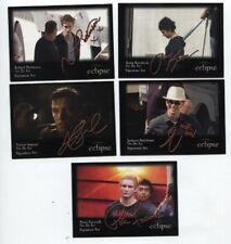 "Twilight Eclipse /""Signature Set/"" Trading Card 1-5"