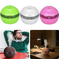 LED Air Purifier Humidifier Ultrasonic Aroma Diffuser Essential Oil Aromatherapy