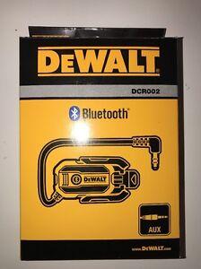 DEWALT BLUETOOTH RADIO ADAPTOR - DCR002
