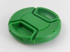 Tapa del objetivo verde 67mm plastico incl. banda