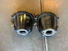 Scott Av-3000 Facepiece KevlarHeadNet Firefighter Scba Mask Size Small Av3000