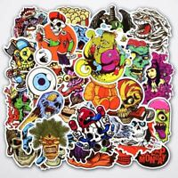 50pcs Stickers Graffiti Vinyl For Car Skateboard Sticker Laptop Luggage Decal