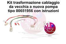 Kit cablaggio per Pompa Riscaldante per 00651956 lavastoviglie Bosch Siemens Nef