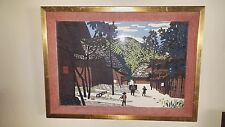 Kiyoshi Saito Woodblock, Signed in English, Stamped in Japanese 1960s