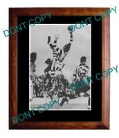RON TODD COLLINGWOOD FC GREAT LARGE A3 SPECKY PRINT 1