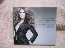 CELINE DION TAKING CHANCES (CD/DVD DELUXE ED, 2-Disc 2007)**LIKE NEW** *GENUINE*