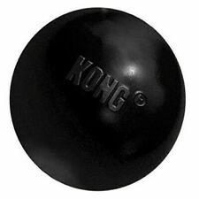 KONG Extreme Ball Dog Toy Medium Large Black Ideal for Chew Sessions Top Quality