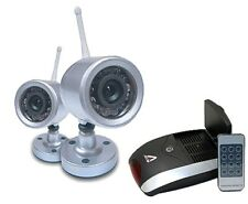 CCTV 2x Wireless Infrared Cameras > Receiver Set. BN