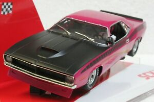 SCX Trans Am Panther Pink Cuda 1970 Limited Edition Serial # 1/32 Slot  **BLEM**