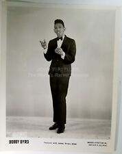ORIGINAL 1960's 8x10 Publicity Photo Bobby Byrd Soul