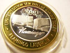 "SILVER STRIKE, FLAMINGO, LAUGHLIN, NEV, LTD $10, 2001 CASINO , ""G"", 2001"