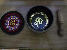 OM  Singing bowl meditation Healing Chakra yoga Copper om mane padme hum