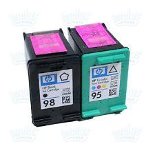2pk Genuine HP 98/95 Black & Color Ink Photosmart 2570 8030 8038 8049 8053 D5160