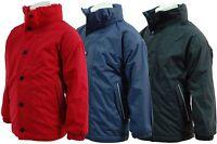 New Regatta Kids Term Time Waterproof Reversible Fleece Jacket
